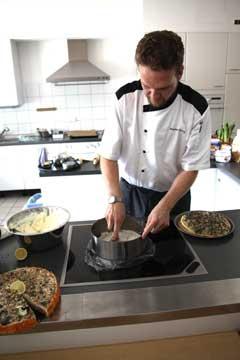 Bastian Foerg beim Kochkurs Rheinhessen-Tapas