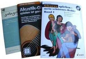 3x Gitarrenlehrbuch für Anfänger