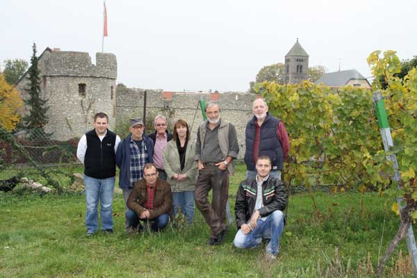 The Team of the Fuchs Wine Estate