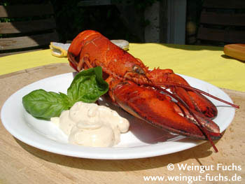 Lobster with verjuice mayonnaise